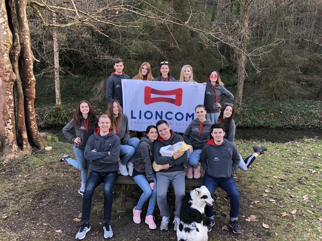 Lioncom team photo